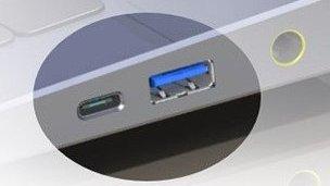 conector Lightning de Apple.