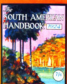 Portada del Manual para Sudamérica de 1924