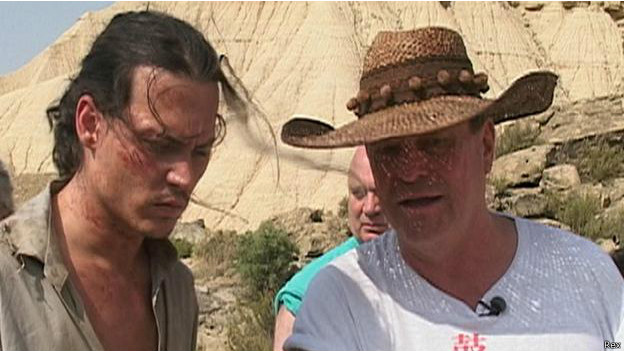 Johnny Depp y Terry Gilliam