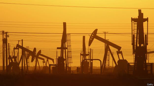 Produção de petróleo nos EUA (Getty Images)