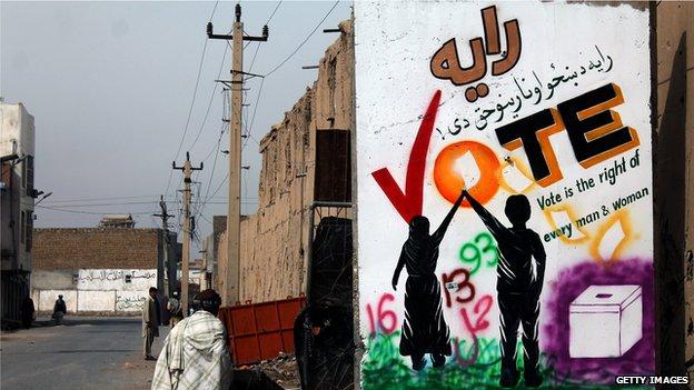 अफ़ग़ानिस्तान में चुनाव