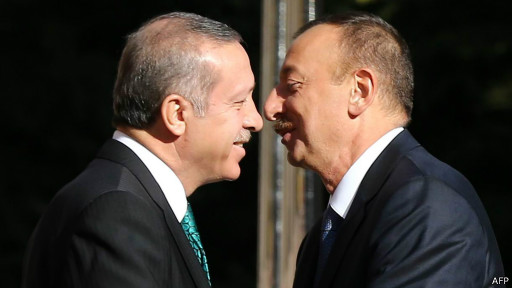 Erdoğan, Əliyev