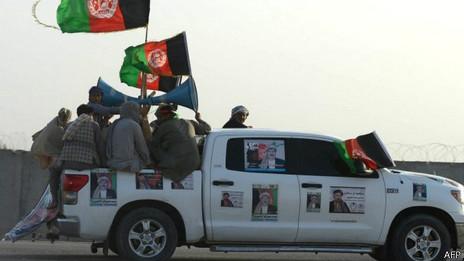 Campaña electoral en Afganistán