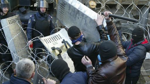 Столкновения в Донеце