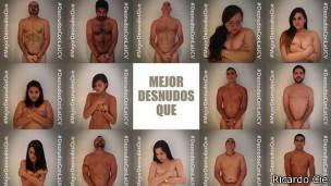 Foto de varios desnudos