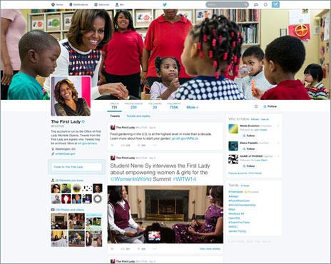Perfil de Michelle Obama