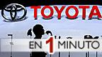 Expositor de Toyota en una feria de automóviles
