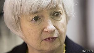 Janet Yellen, presidenta de la Reserva Federal de EE.UU.