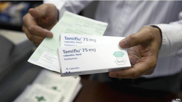 特敏福(Tamiflu,又稱達菲)