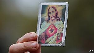 Estampa de Jesucristo