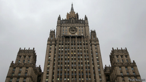 Здание МИДа на Садовом кольце