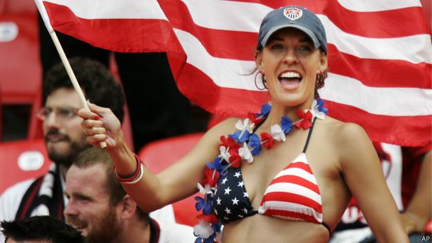 Fã de futebol dos Estados Unidos (AP)