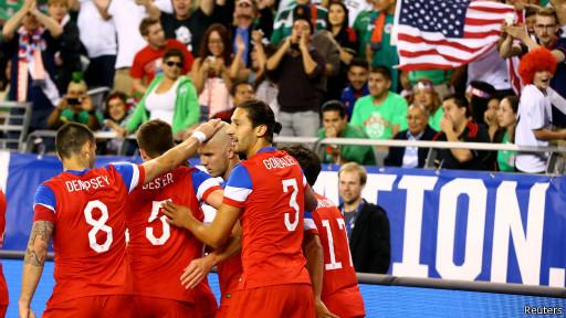 Seleção americana de futebol (Reuters)