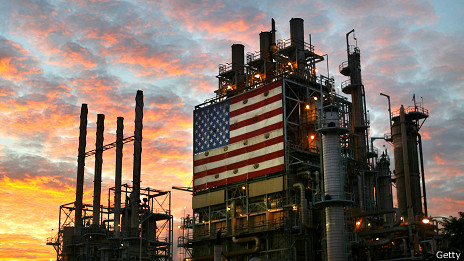 Planta de energía en EE.UU.