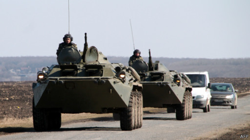 Ucrânia prepara retaliação militar a ataques de grupos pró-Rússia no leste do país
