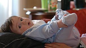 Bebé acostado