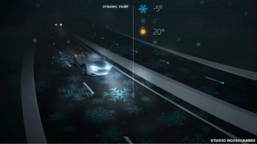 Estrada que brilha no escuro é aberta na Holanda 140414182112_holland_road_marking_512x288_studoroosegaarde_nocredit