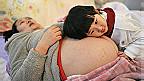 Mujer china embarazada