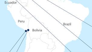 Mapa de las disputas territoriales en América Latina