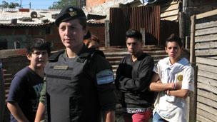 Gendarme en Rosario