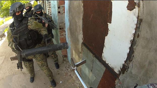 Policía de Rosario. Foto de la BBC