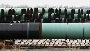 Tubos para el oleoducto