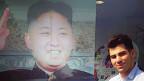 Karim Nabbach y foto de Kim Jong-un