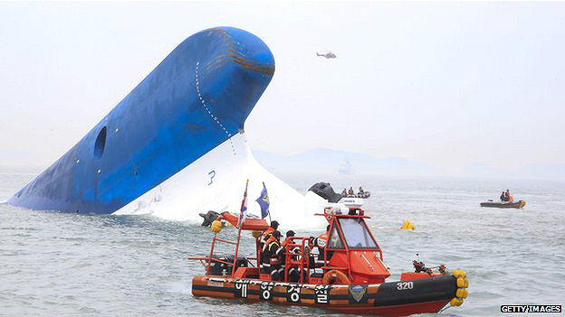Ferry hundido
