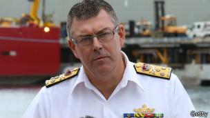 Kapten angkatan laut Australia, Ray Griggs, Getty