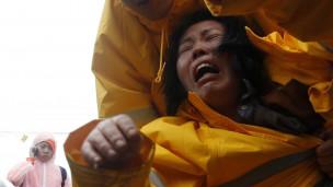 Người nhà nạn nhân vụ chìm phà Sewol