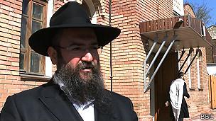Rabino Pinkhas Vyshedsky
