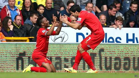 Suárez y Sterling celebran