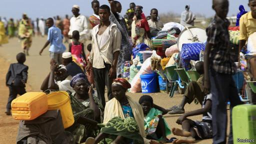 Беженцы в Судане