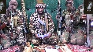 Miembros del grupo radical islámico Boko Haram