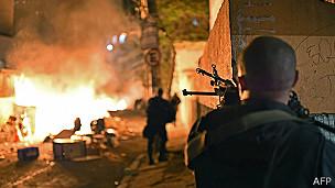 Disturbios en Copacabana