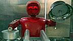 Робот, работающий в харбинском ресторане