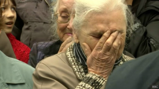 Funeral en Sloviansk