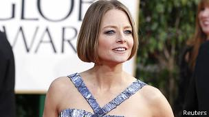 La actriz estadounidense Jodie Foster