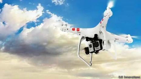Un drone. Foto de cortesía: DJI Innovations