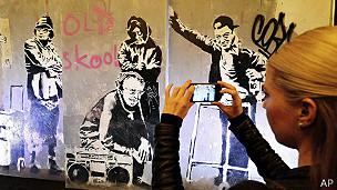 Exhibición de Banksy