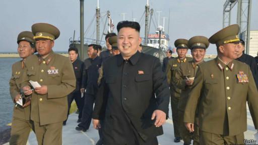 Ким Чен Ын посещает рыболовецкое хозяйство в КНДР