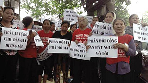 Người dân Dương Nội tiếp tục khiếu nại
