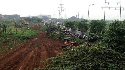 Vụ cưỡng chế đất ở Dương Nội