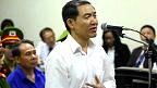 Ông Dương Chí Dũng tại phiên tòa phúc thẩm