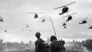 Helicópteros en Vietnam