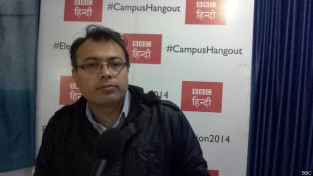 कश्मीर हैंगआउट में बीबीसी संवाददाता विनीत खरे