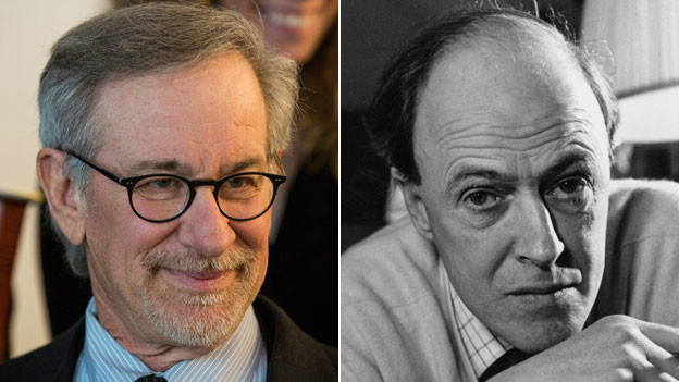 Steven Spielberg dan Roald Dahl