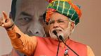 Narendra Modi dan takara a India