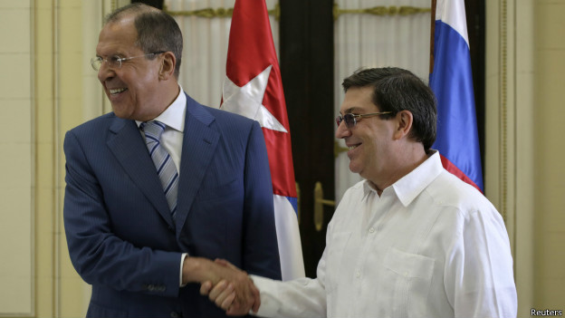 Lavrov en Cuba