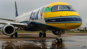 Avião da Azul (Foto AFP)